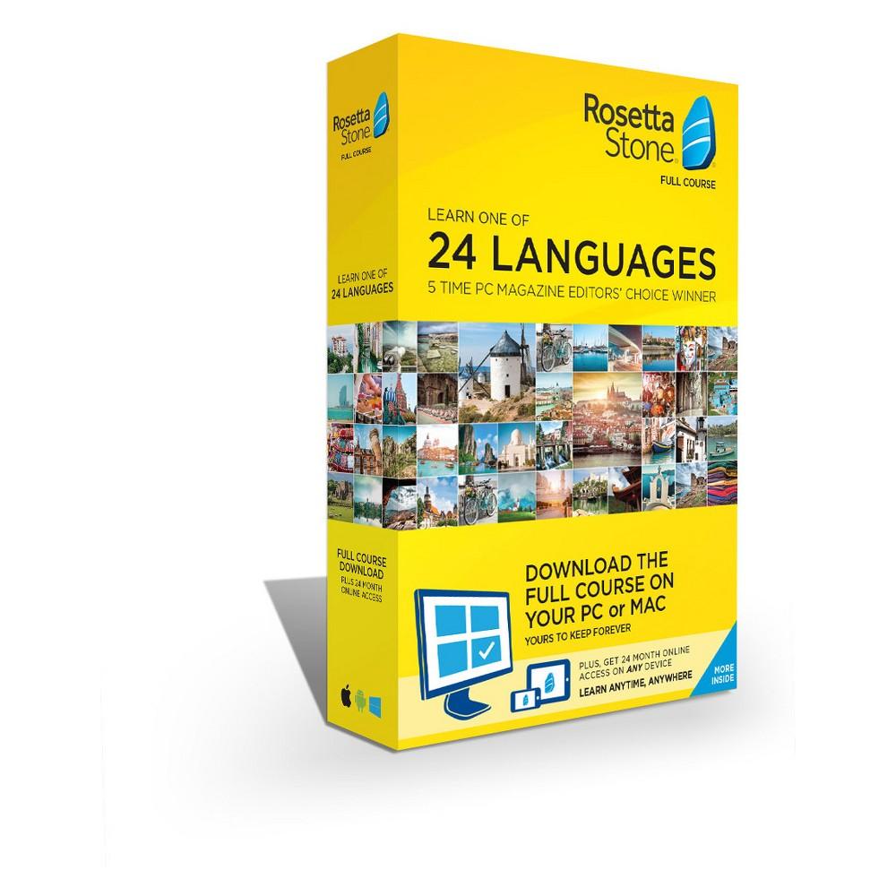 Rosetta Stone Lifetime Download + 24 Months Online Access