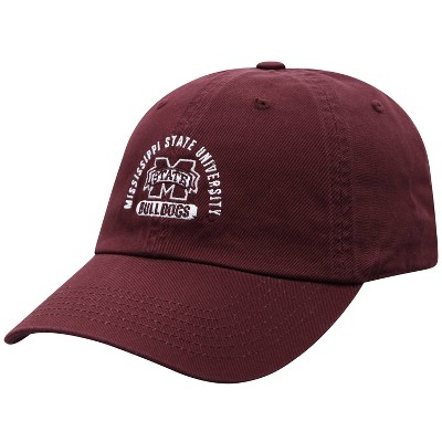 NCAA Mississippi State Bulldogs Men's Garment Washed Relaxed Fit Hat
