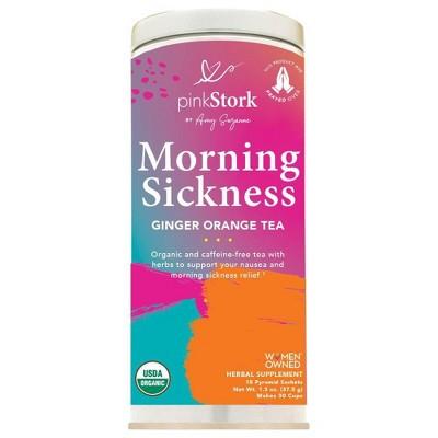 Pink Stork Tea: Morning Sickness Relief Pregnancy Tea - 30 cups