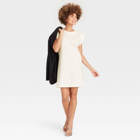 Women's Sleeveless T-Shirt Dress - A New Day™ - image 1 of 3