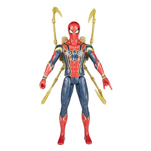 Marvel Avengers Infinity War Titan Hero Power Fx Iron Spider Man