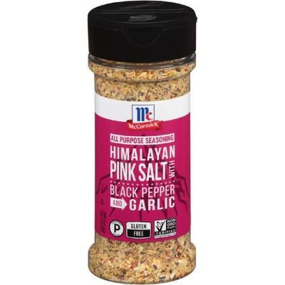 McCormick Pink Sea Salt, Black Pepper, Garlic All Purpose Seasoning - 6.5oz