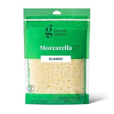 Shredded Mozzarella Cheese - 8oz - Good & Gather™