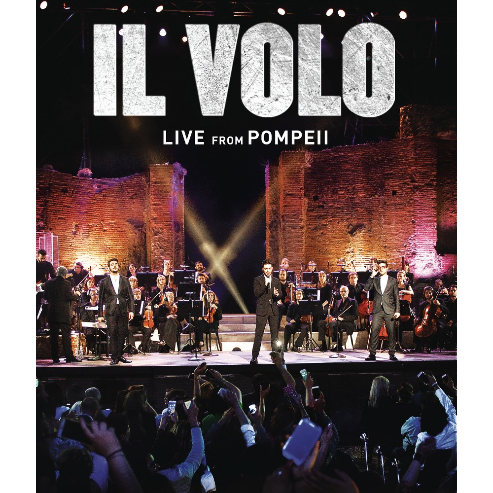Live from pompeii (Dvd), Movies