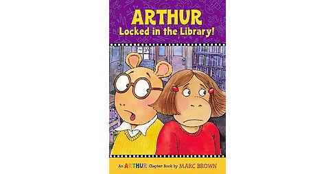 Arthur Locked in the Library! (Paperback) (Marc Tolon Brown) - image 1 of 1