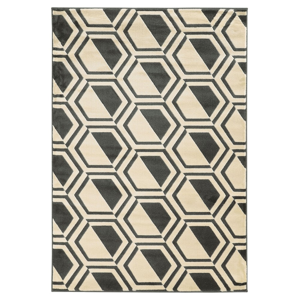Roma Bridle Area Rug - Gray (8' X 10')