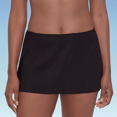 Women's Slimming Control Swim Skirt - Dreamsuit by Miracle Brands Black