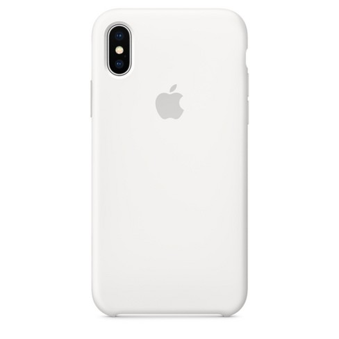 sale retailer 5d735 ebac0 iPhone X Silicone Case - White
