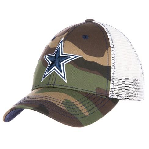 386eba113d3 NFL Men s Dallas Cowboys Camo Mesh Back Pruitt Hat   Target