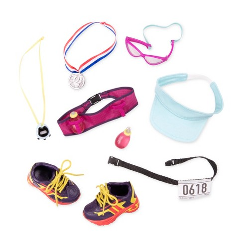 """Our Generation Sporty Outfit Set for 18"""" Dolls - Run for Fun! - image 1 of 4"""