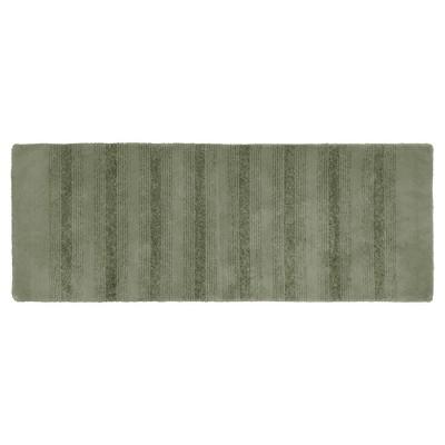 Garland Essence Nylon Washable Bath Runner - Deep Fern (22 x60 )