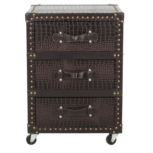 Mya Chest Brown - Safavieh® - image 1 of 4