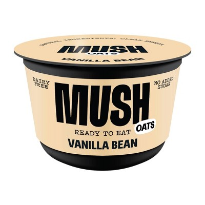 MUSH Gluten Free and Vegan Vanilla Bean Ready-to-Eat Oats - 5oz