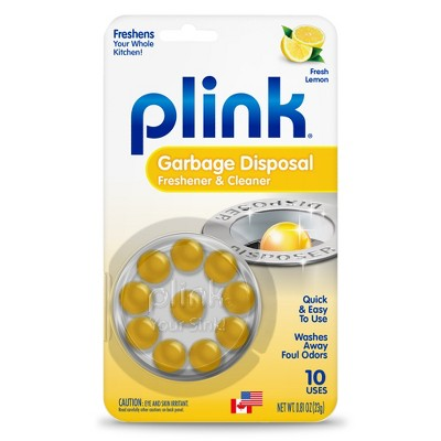 Plink Garbage Disposer Cleaner and Deodorizer - 10 ct