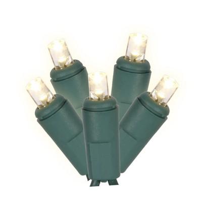 Vickerman Single Mold Wide Angle LED Christmas Twinkle light set