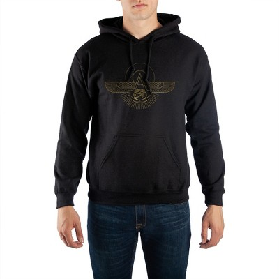 Assassin's Creed Video Game Mens Black Graphic Hoodie