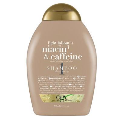 Shampoo & Conditioner: OGX Niacin + Caffeine