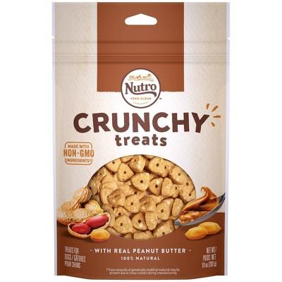 Nutro Crunchy Peanut Butter Dog Treats - 10oz