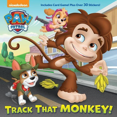 Track That Monkey! -  (Paw Patrol) by Casey Neumann (Paperback) - image 1 of 1