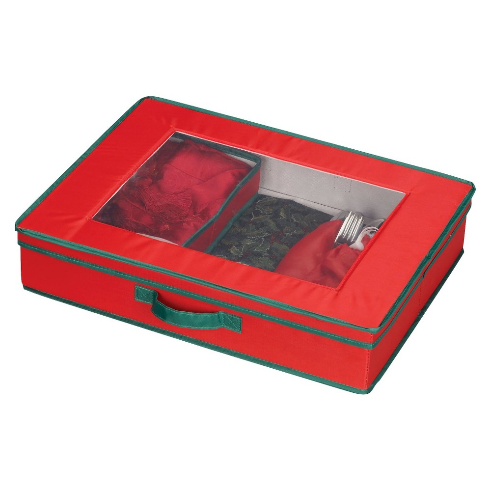 Household Essentials Holiday Hostess Tabletop Storage