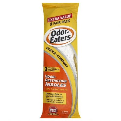 Odor-Eaters Comfort Insole 3ct