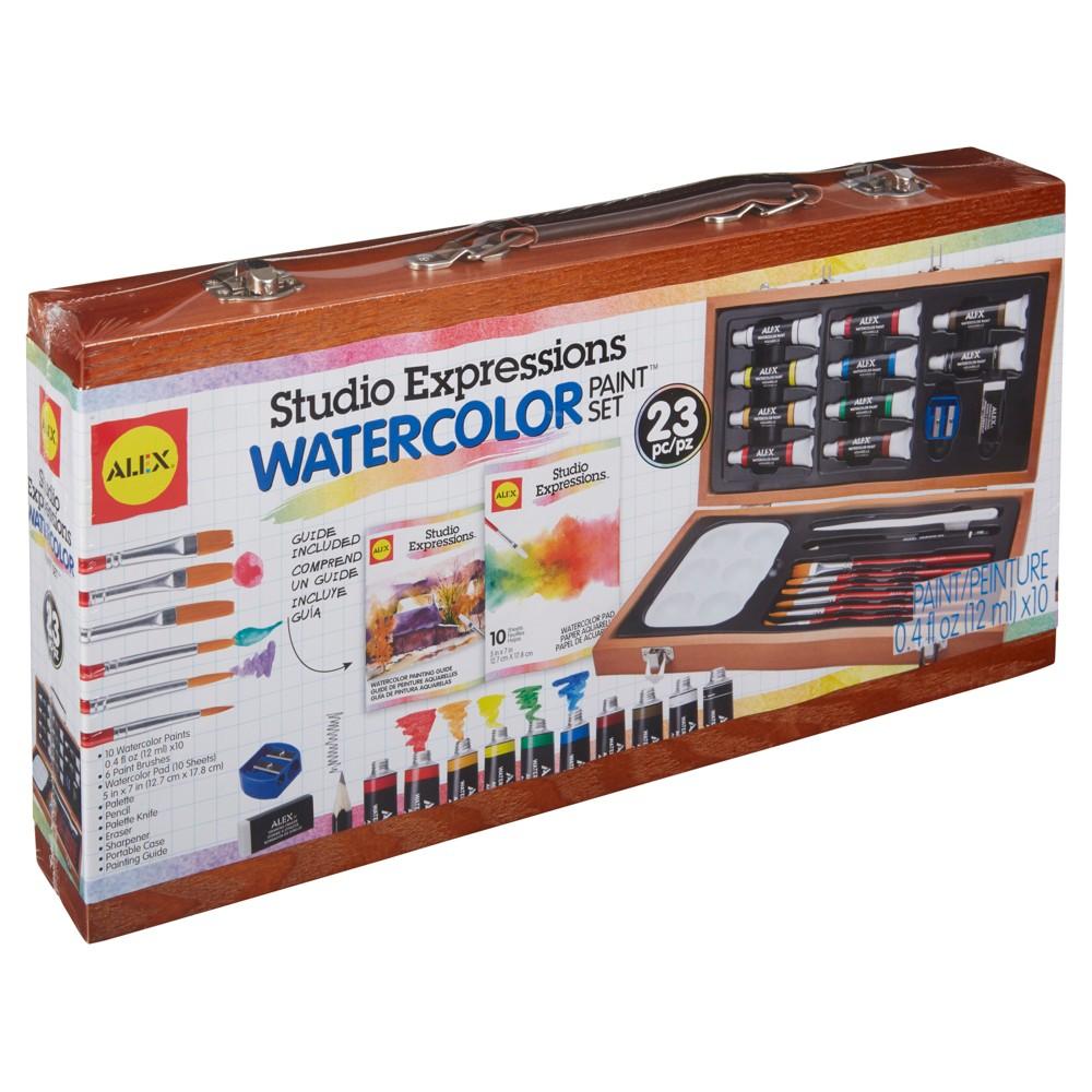 Alex Art Studio Expressions Watercolor Painting Set