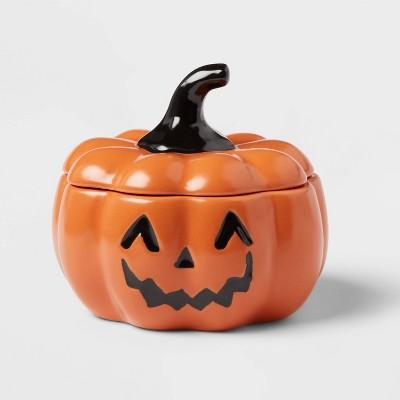 10oz Stoneware Pumpkin Candy Bowl - Threshold™