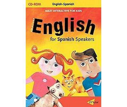 English for Spanish Speakers (Bilingual) (Hardcover) - image 1 of 1