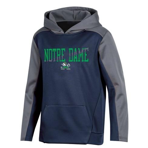 NCAA Notre Dame Fighting Irish Boys' Long Sleeve Pullover Hoodie  - image 1 of 2