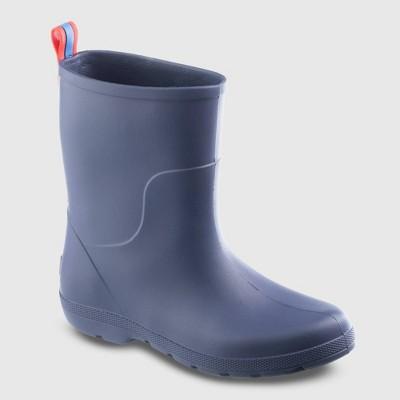 Kids' Totes Cirrus Charley Rain Boots - Navy 4-5