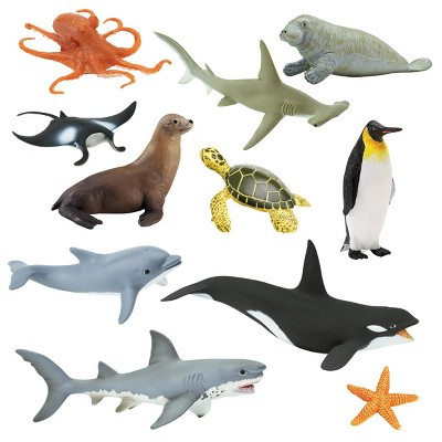 Kaplan Early Learning Animals of the Sea  - Set of 11
