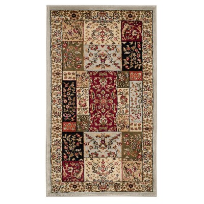 Purple Floral Loomed Accent Rug 2'3 X4' - Safavieh