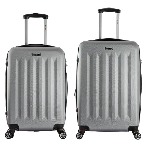 "InUSA Philadelphia 2pc Hardside Spinner Luggage Set 23""& 27"" - Gray - image 1 of 5"