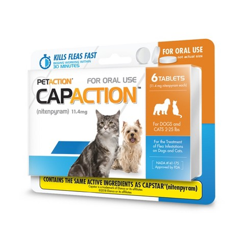 CapAction Insect Treatment for Cat - 2-25lbs - image 1 of 4