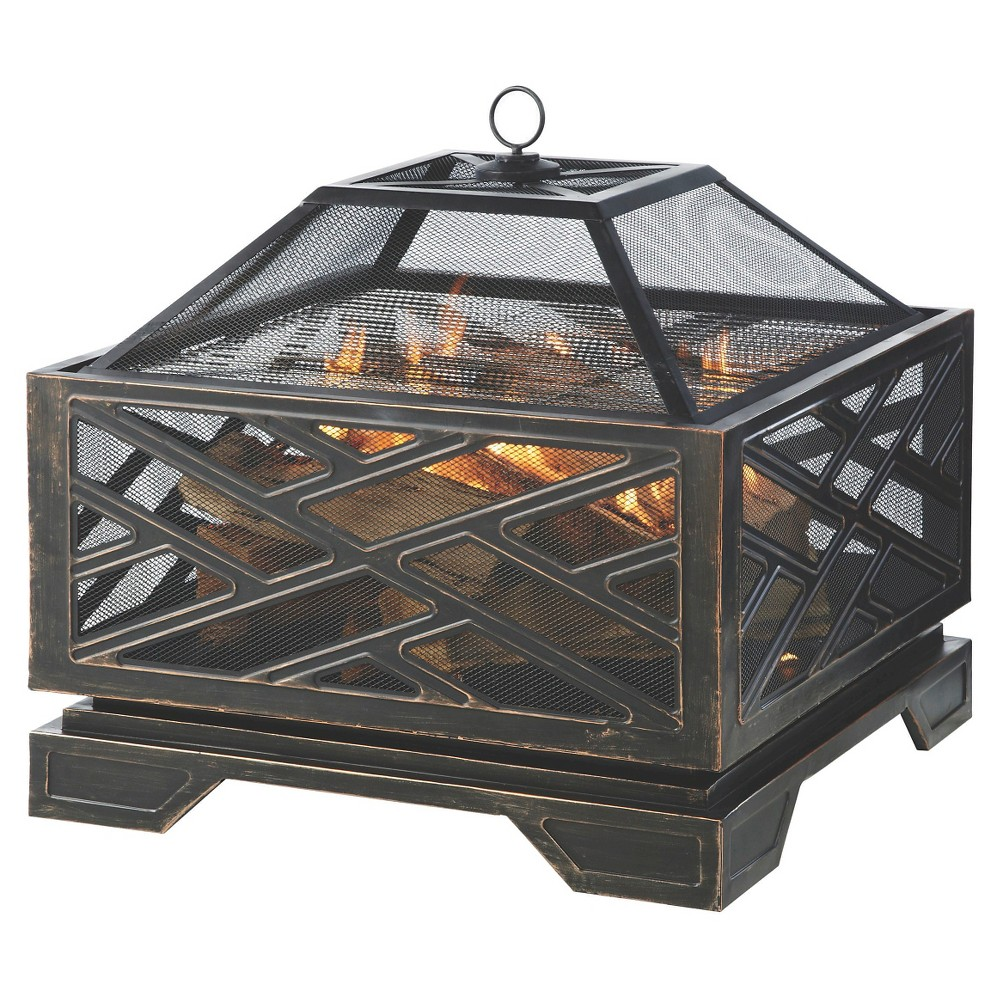 Pleasant Hearth 26 Martin Fire Pit, Bronze