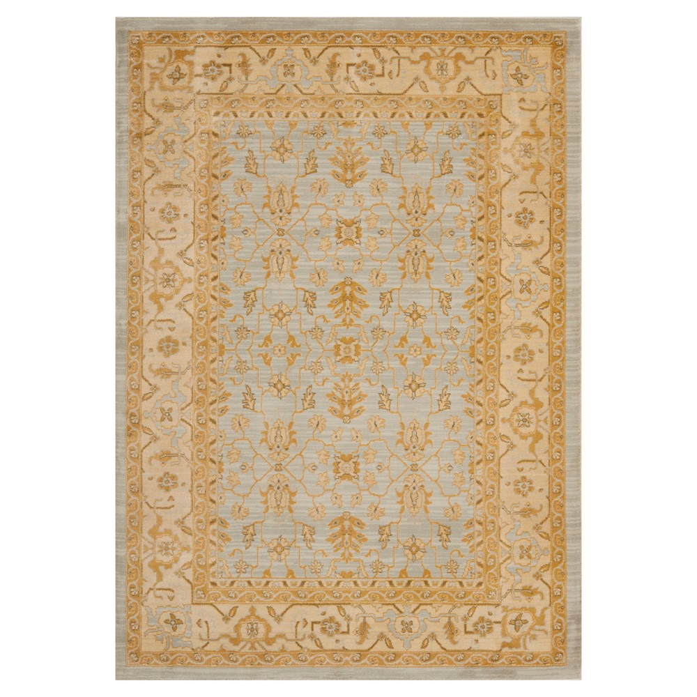 Ardalan Area Rug - Light Gray/Gold - (4'x5'7) - Safavieh