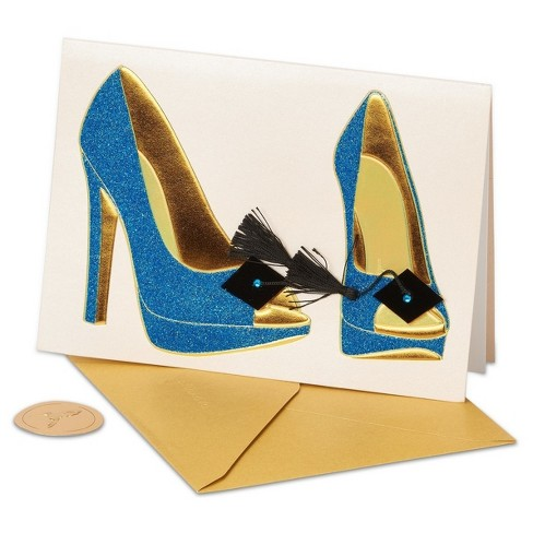 Papyrus High Heel Shoes Graduation Card With Glitte Target