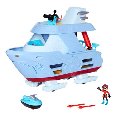 Disney Incredibles 2 Junior Supers Hydroliner Playset