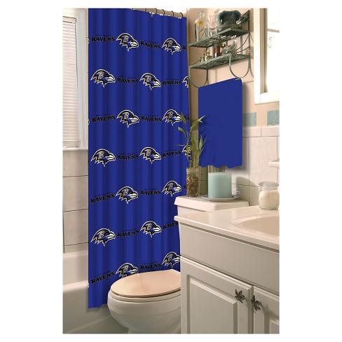 Northwest Baltimore Ravens Shower Curtain Target