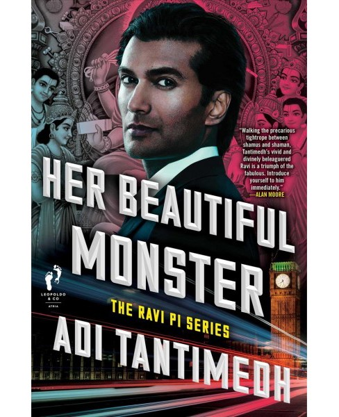Her Beautiful Monster -  (Ravi PI) by Adi Tantimedh (Hardcover) - image 1 of 1
