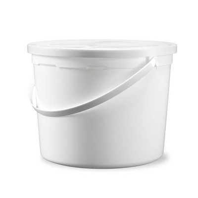 ePackageSupply 1.25 Gallon Food Grade Round Buckets with Lids