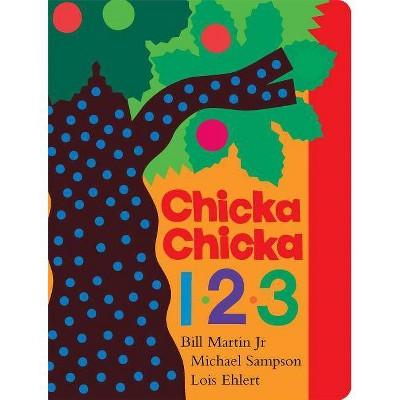 Chicka Chicka 1, 2, 3 - (Classic Board Books)by Bill Martin & Michael Sampson (Board_book)