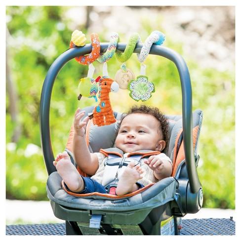 Infantino Go GaGa Spiral Car Seat Activity Toy Target