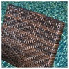 El Paso  5pc  Wicker Patio Folding Dining Set - Brown - Christopher Knight Home - image 3 of 4