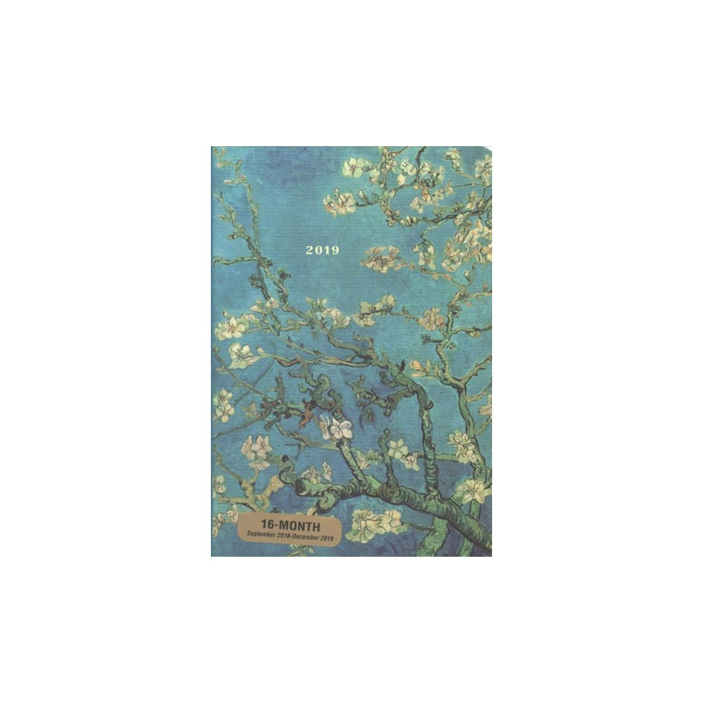 Almond Blossom Weekly Planner 2019 Calendar - (Hardcover)