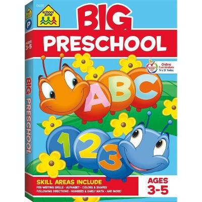 School Zone Big Preschool Workbook