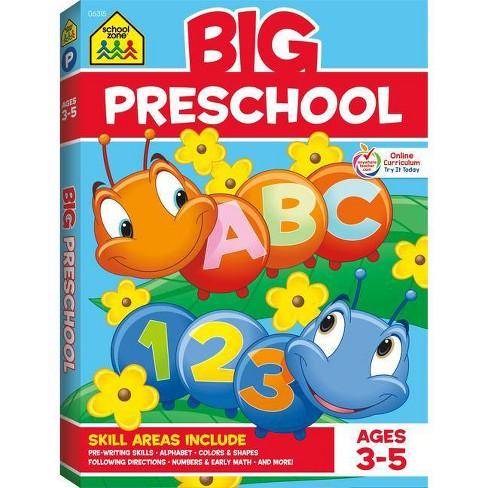 School Zone Big Preschool Workbook - image 1 of 4