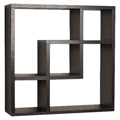 "17.7"" x 17.7"" Geometric Square Wall Shelf - Danya B. - image 1 of 3"
