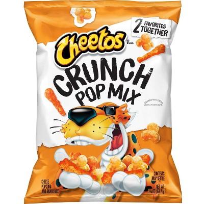 Cheetos Cheddar Crunch Pop Mix - 2.25oz