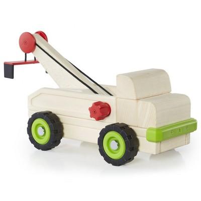 Guidecraft Block Science Big Tow Truck